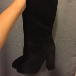 Dolce & Gabbana Knee High Suede Boots